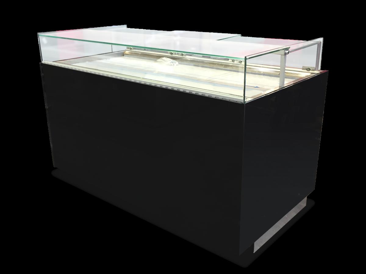 Comptoir réfrigéré BERYL165 finition laquée noir