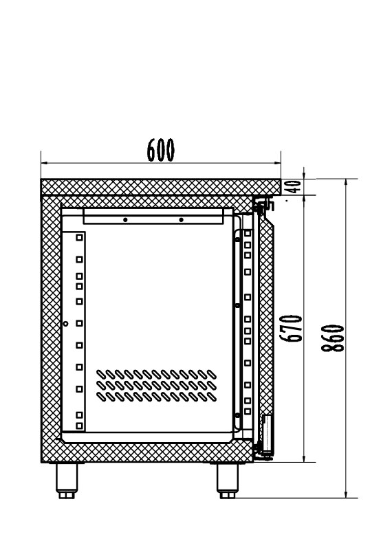 PICTOGRAMME DESSERTE INOX SYSTEMBAR 606