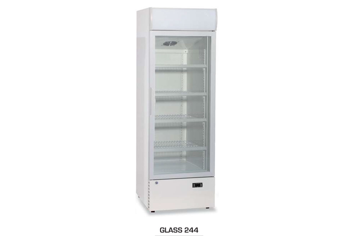 ARMOIRE REFRIGEREE GLASS 244