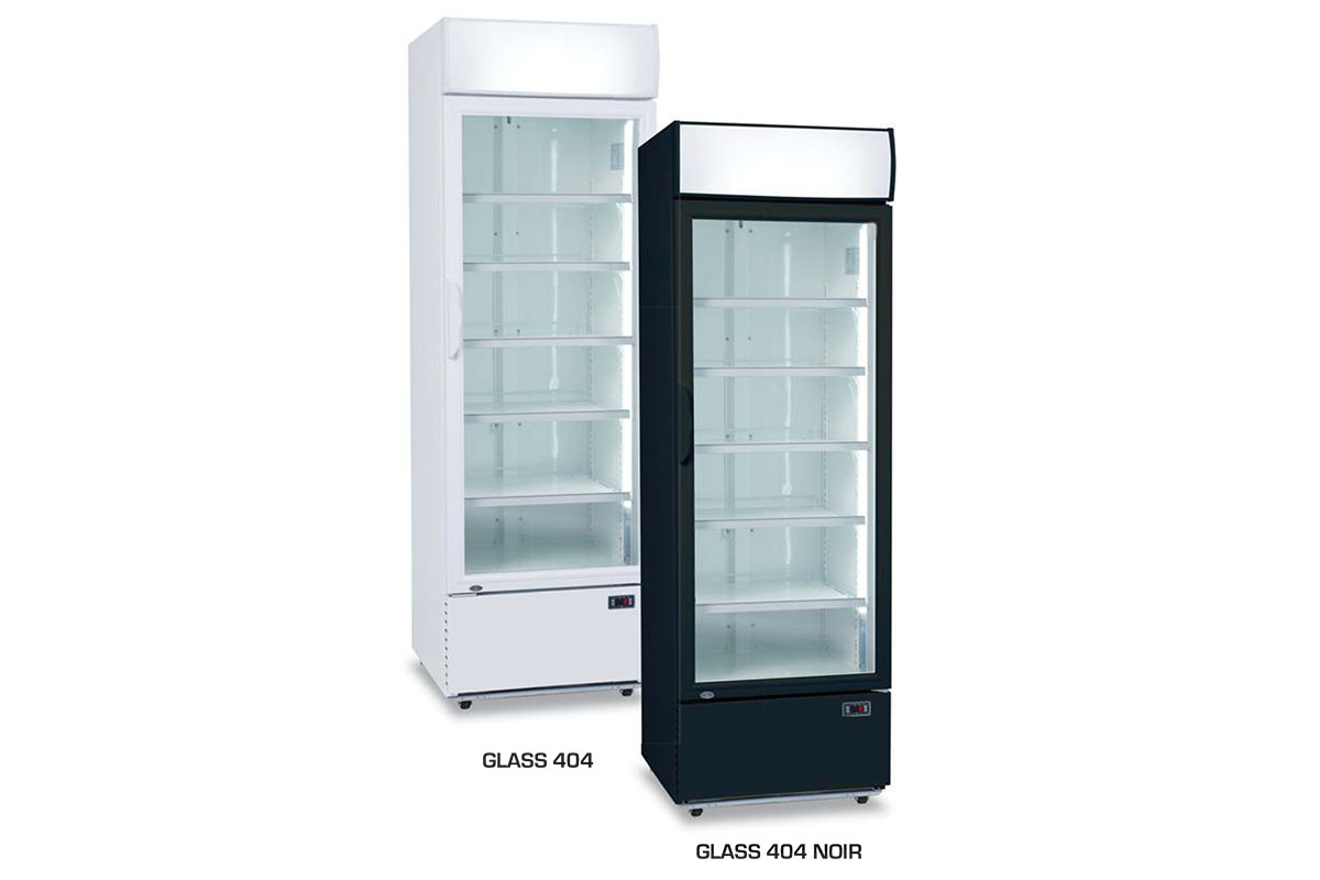 ARMOIRE REFRIGEREE GLASS 404
