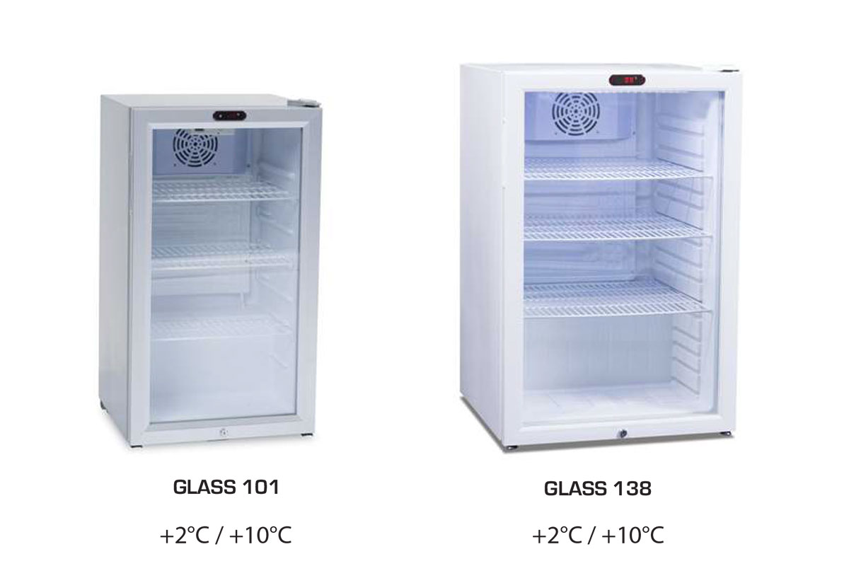 ARMOIRE REFRIGEREE GLASS 101 / 138