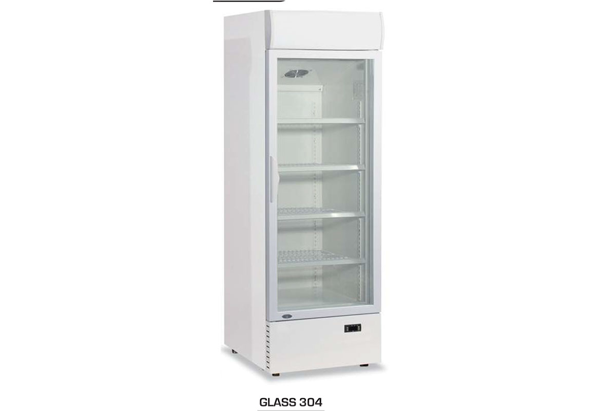 ARMOIRE REFRIGEREE GLASS 304