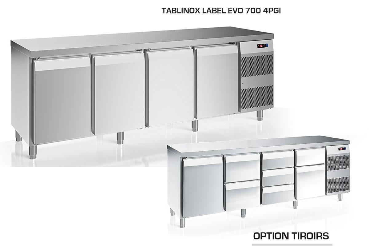 TABLE REFRIGEREE TABLINOX EVO 700
