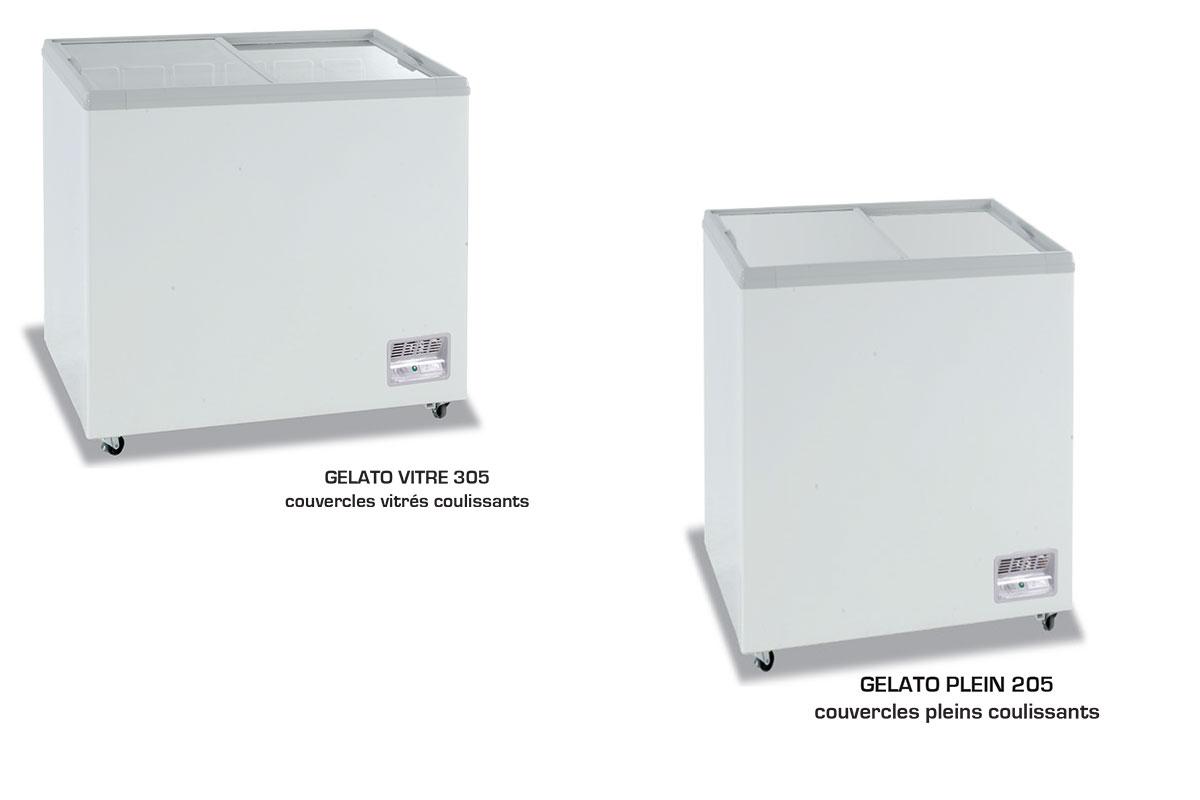 CONSERVATEUR A GLACES GELATO 155 - 405