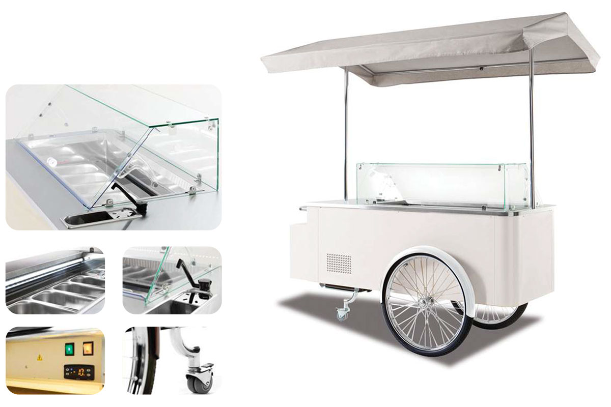 CHARIOT A GLACE DOLCE VITA