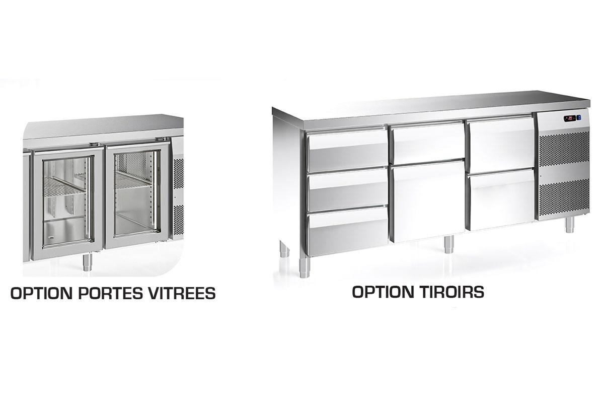 OPTION TABLE REFRIGEREE TABLINOX EVO 600