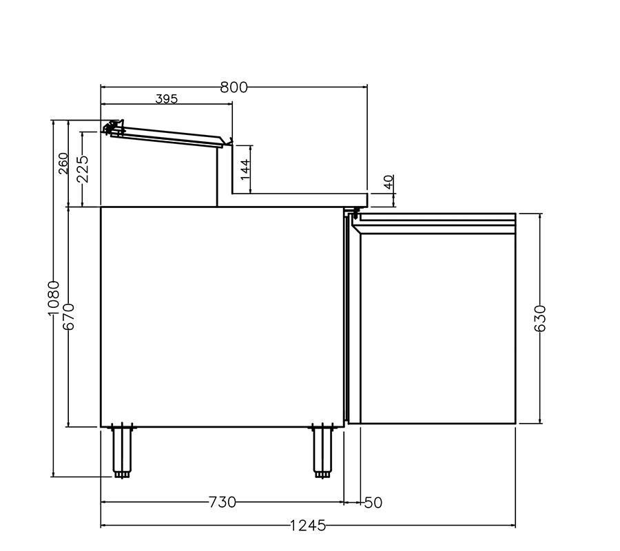 PICTOGRAMME DESSERTES INOX SYSTEMCHEF 806