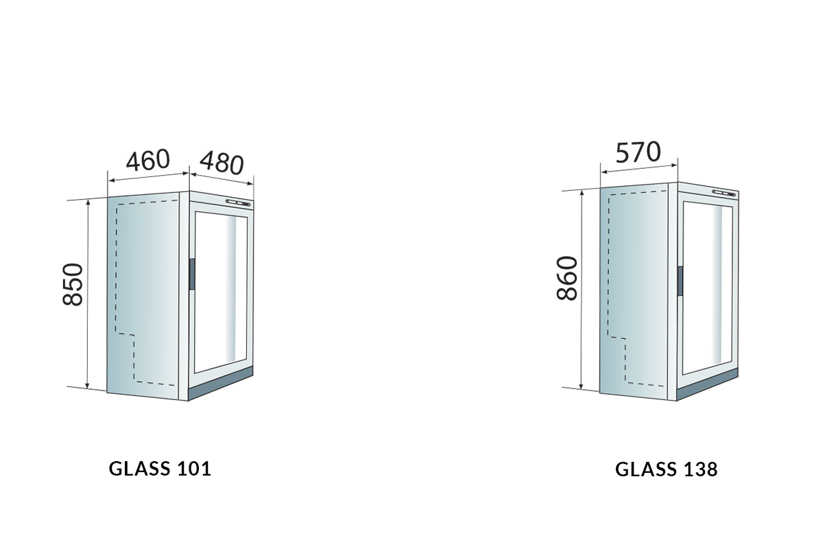 PICTOGRAMME ARMOIRE REFRIGEREE GLASS 101 / 138