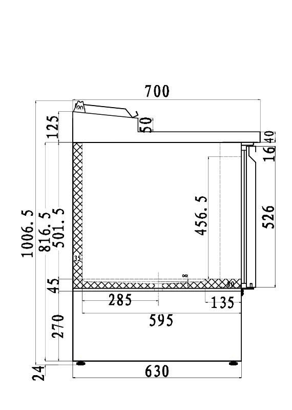 PICTOGRAMME DESSERTES INOX SYSTEMCHEF