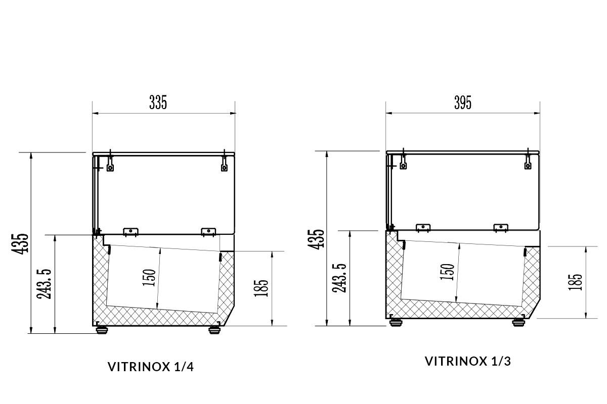 PICTOGRAMME VITRINE VITRINOX