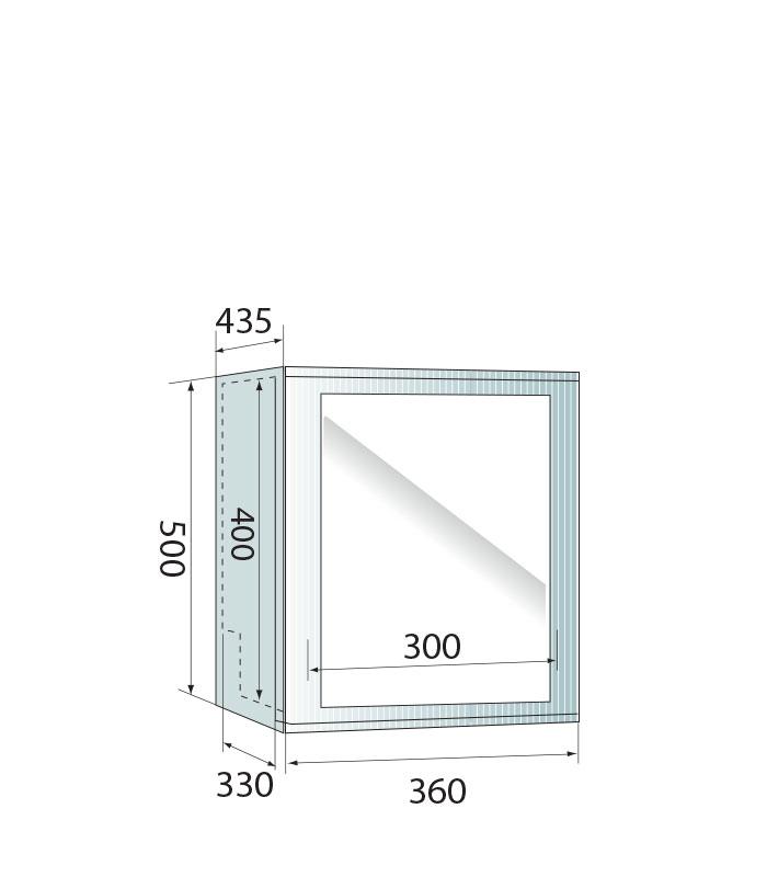 PICTOGRAMME ARMOIRE MINIGLASS 35 INOX
