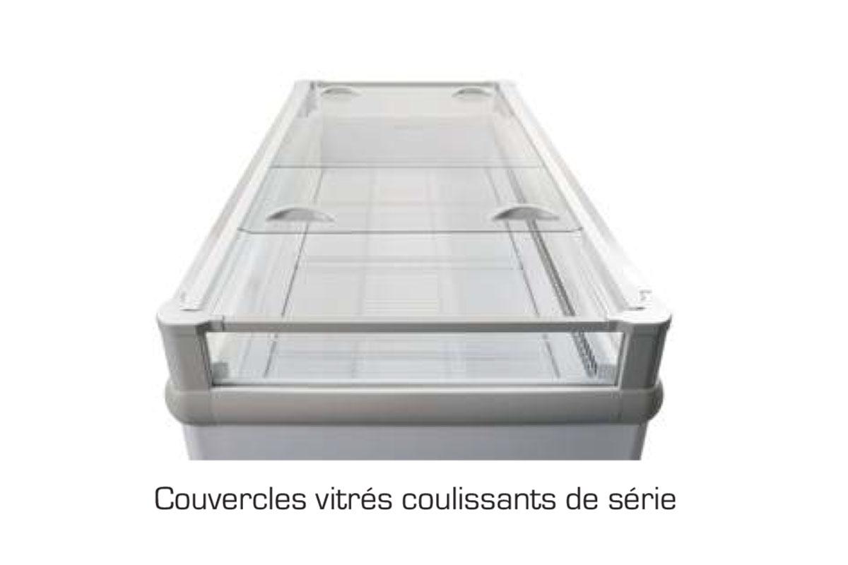 COUVERCLE COULISSANT GONDOLE CAPRI / VENISE