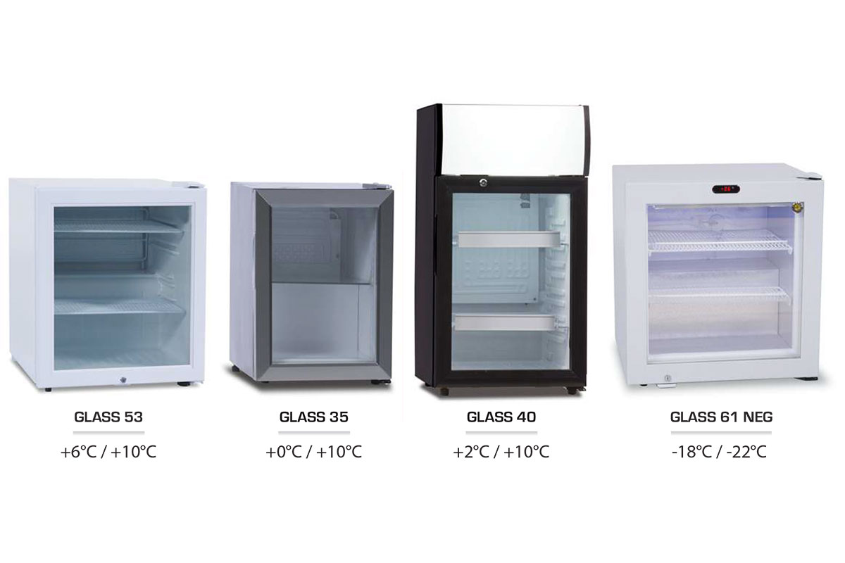 VITRINE MULTI-SERVICES GLASS 35-40-53-61 NEG
