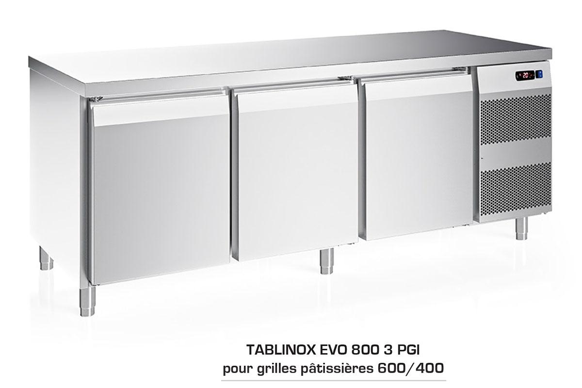 TABLE REFRIGEREE TABLINOX EVO 800