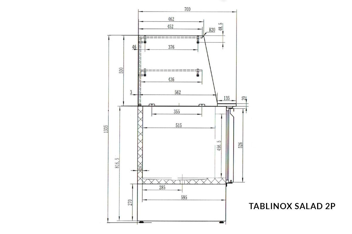 PICTOGRAMME TABLINOX SALAD 2P