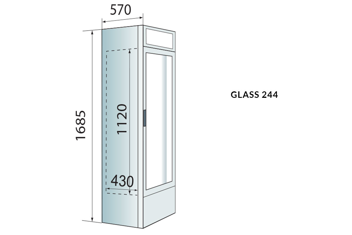 PICTOGRAMME ARMOIRE GLASS 244