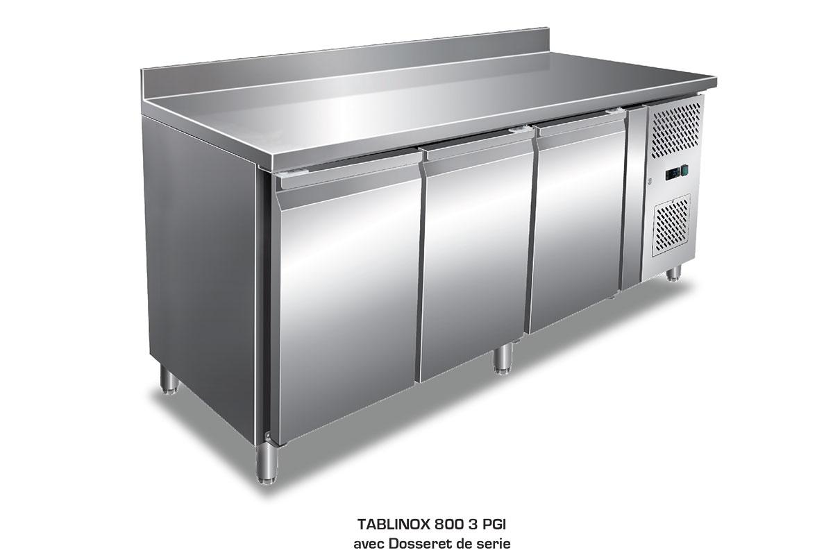 TABLE REFRIGEREE TABLINOX 800
